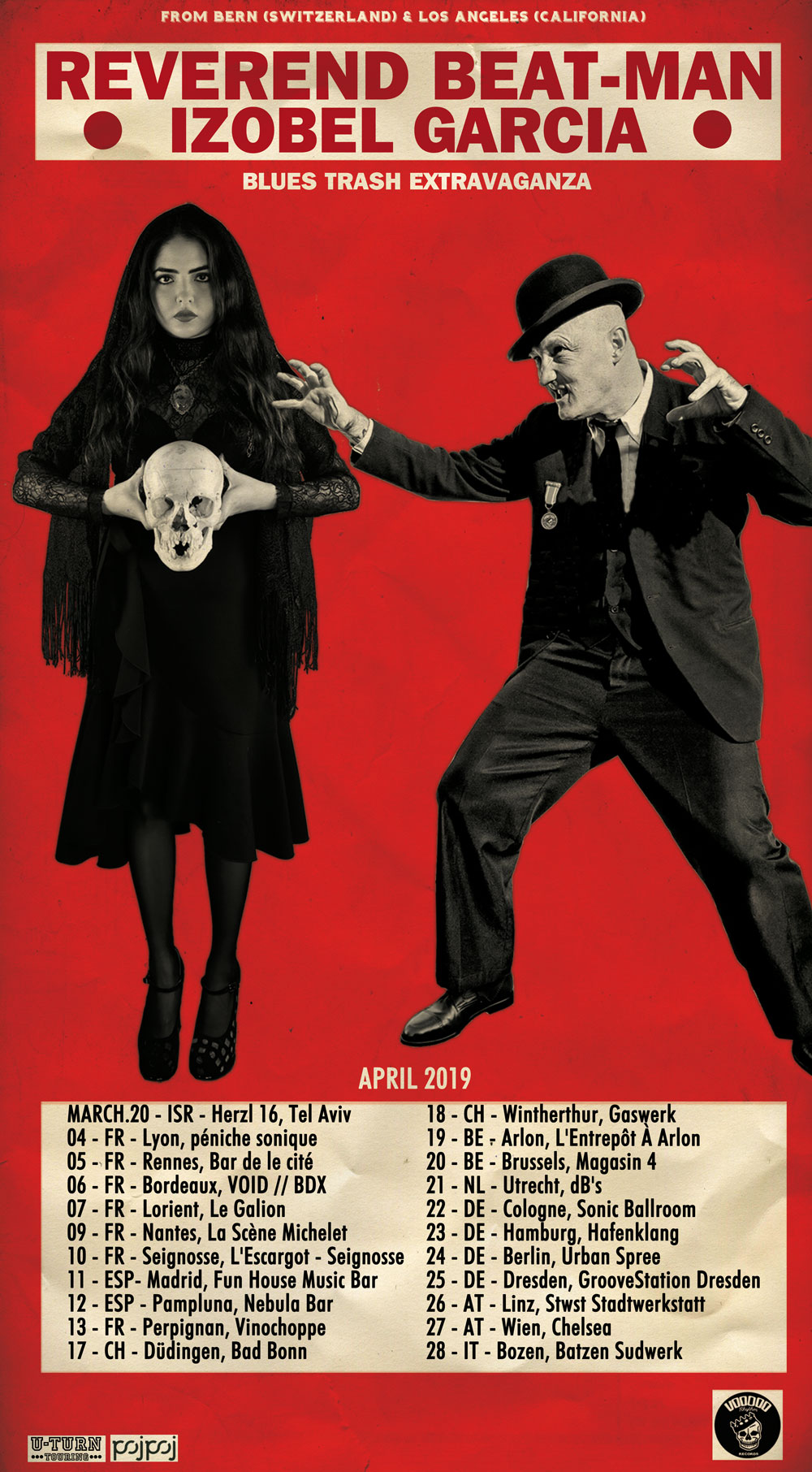 REVEREND BEAT MAN 2019 POSTER